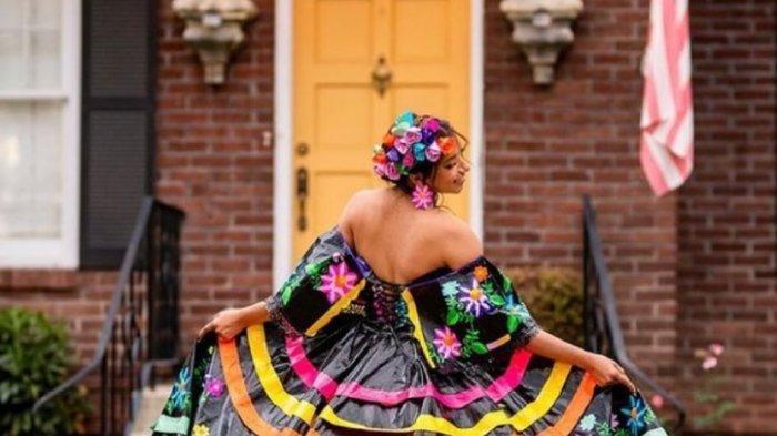 Kisah Larissa Leon, Ikut Kontes untuk Biaya Kuliah hingga Buat Gaun dari Lakban