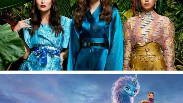 Ini Kisah Seleb Isi Suara 'Raya and The Last Dragon' dalam Bahasa Indonesia