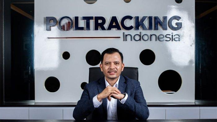 Founder sekaligus Direktur Eksekutif Poltracking Indonesia Hanta Yuda.