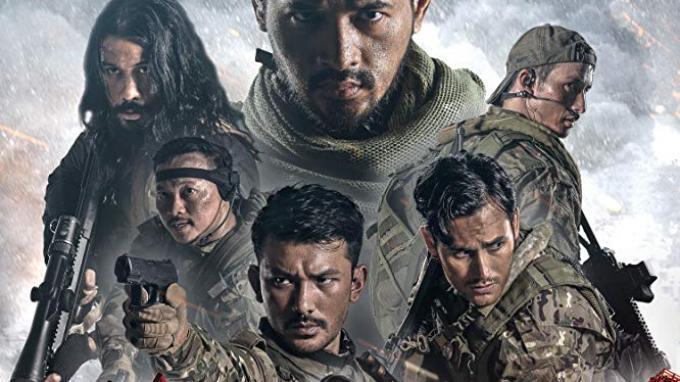 Sinopsis Film Foxtrot Six di Movievaganza Trans 7 Malam Ini, Perjuangan Oka Antara Cs Lawan Piranas