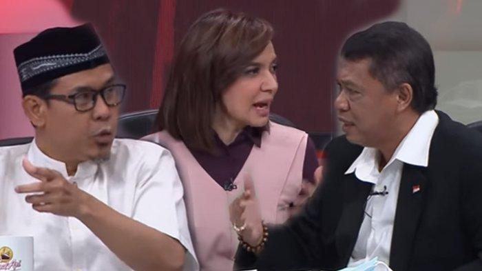 Debat Sengit Munarman vs Politisi PDIP di Mata Najwa, Singgung Drone Kuntit Rizieq hingga Jejak FPI