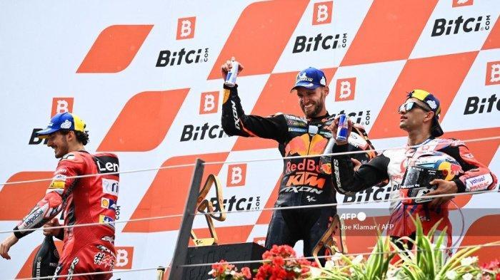 Komentar Brad Binder seusai Juara MotoGP Austria: Saya Hampir Tak Bisa Memegang Motor