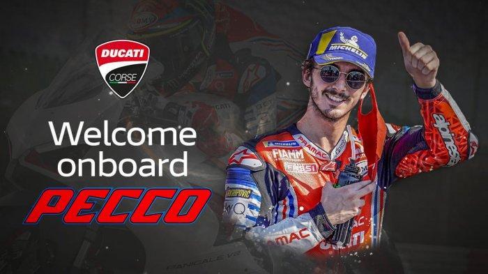 Francesco Bagnaia susul Jack Miller ke tim Ducati