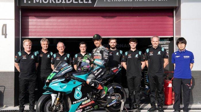 MotoGP Belanda 2021: Morbidelli Menepi 8 Pekan Usai Jalani Operasi, Rossi Jadi Tumpuan Petronas