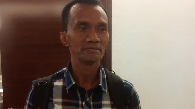 Frans sinatra, pelatih Martapura FC. (HARIAN SUPER BALL/SIGIT NUGROHO)