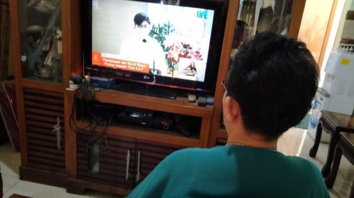 Fransiska Valentina Sumei Purwanti, yang menjalani Misa Natal virtual
