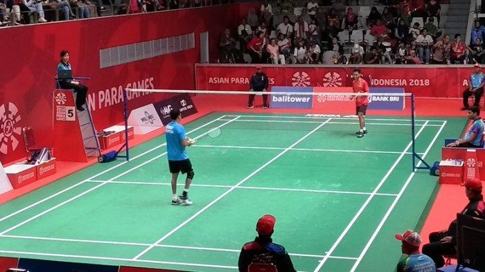 Ukun Rukaendi dan Fredy Setiawan Ramaikan Kontingen Indonesia Pada Final Para-Badminton