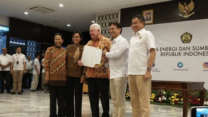 Bantah Tudingan Sudirman Said Soal Freeport, Jonan: Perundingan Menteri Sebelumnya Tidak Relevan