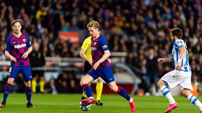 Jelang Barcelona vs Napoli Liga Champions, Frenkie de Jong: Ini Pertandingan Sulit & Menentukan