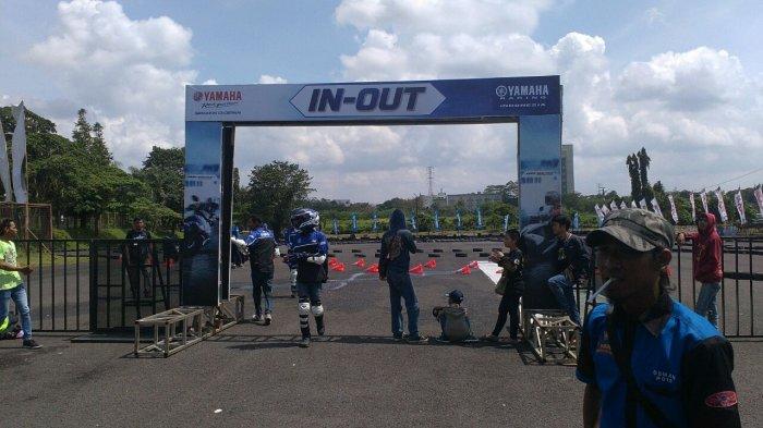 Ngetes Performa Aerox 155 VVA di Sirkuit 600 Meter Seri Perdana Yamaha Sunday Race 2018