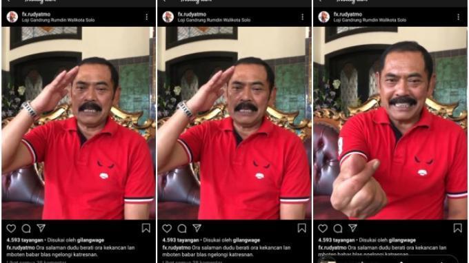 FX Rudyatmo Ganti Jabat Tangan dengan Simbol Hati: Simbol Perdamaian