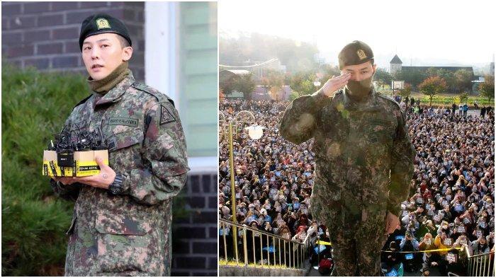 G-Dragon Resmi Selesaikan Wajib Militer, Lebih dari 3000 Fans Berkumpul Sambut Kepulangannya