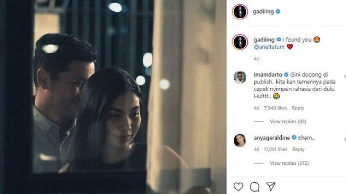 Ayah Ariel Tatum Buka Suara soal Kabar Putrinya Dekat dengan Gading Marten