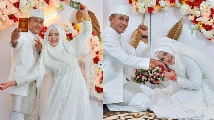 VIRAL Gadis Aceh Menikah Dengan Kakak Ipar, Berawal Perjuangan Merawat 'Keponakan' Berakhir Indah