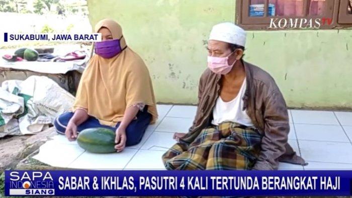 Kisah Pasutri Petani di Sukabumi 4 Kali Gagal Berangkat Haji, Kumpulkan Uang dari Hasil Panen