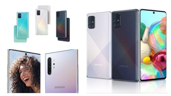 Daftar Harga Terbaru HP Samsung Januari 2020: Galaxy A71, Galaxy A51 hingga Galaxy Note10 Plus