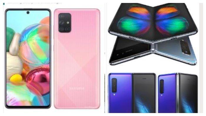 Harga HP Samsung Bulan Oktober 2020: Galaxy A01 Core, Galaxy Z Flip, Galaxy A71, hingga Galaxy S20+