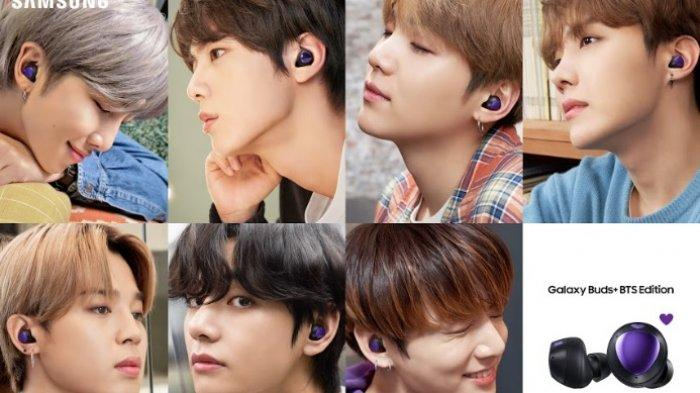Galaxy Buds+ BTS Edition.