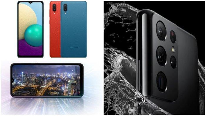 Daftar Harga Hp Samsung Terbaru Maret 2021 Galaxy M02 Galaxy A02 Hingga Galaxy S21 Ultra 5g Tribunnews Com Mobile