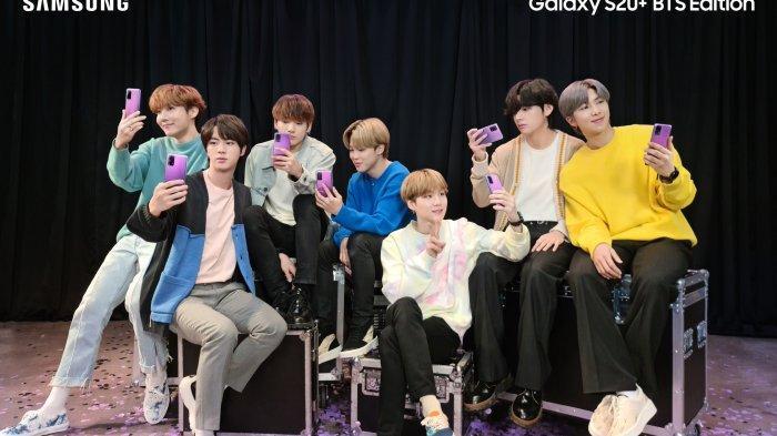 Pre Order Galaxy S20+ BTS Edition Telah Dibuka, Ini Harga dan Tanggalnya