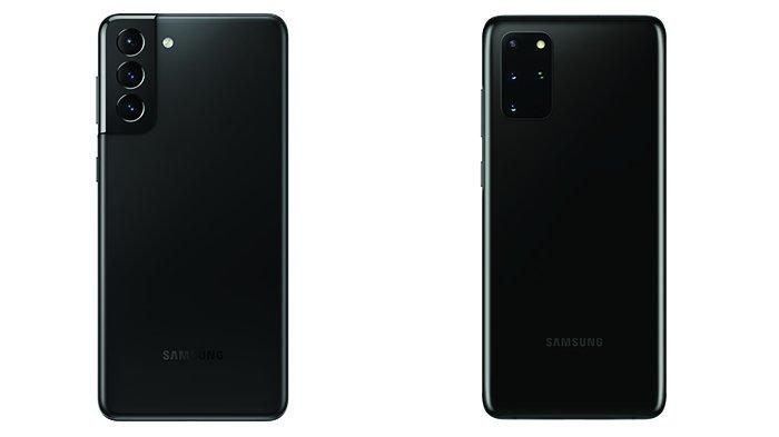 Galaxy S21 Plus dan S20 Plus