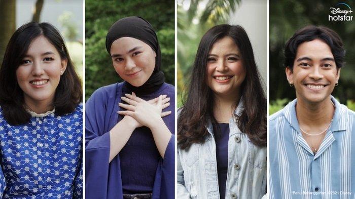 Gamaliel, Ify Alyssa, Sivia, dan Tasya Kamila Kolaborasi Nyanyikan Lagu Ikonik Disney
