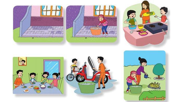 Kunci Jawaban Tema 6 Kelas 3 Halaman 189 190 191 192 193 Buku Tematik SD Pembelajaran 6 Subtema 4