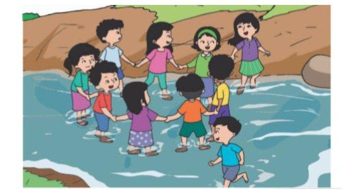 Gambar di Buku Tematik Tema 7 Kelas 2 SD.1