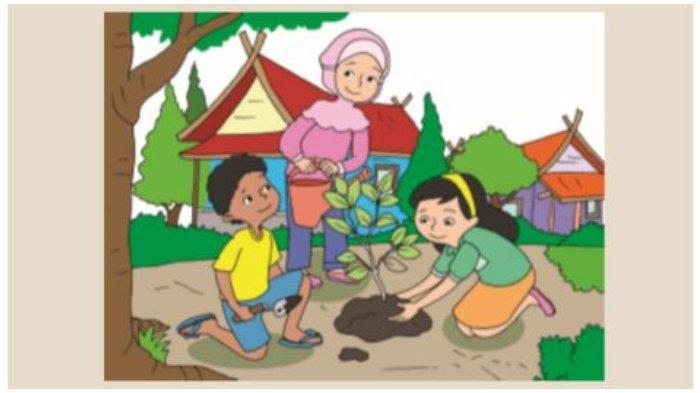 Gambar di Buku Tematik Tema 8 Kelas 5 SD.