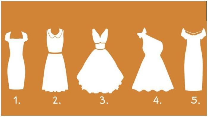 Tes Kepribadian - Pilih Satu Gaun yang Paling Disuka, Hasilnya Ungkap Karakter yang Kamu Miliki