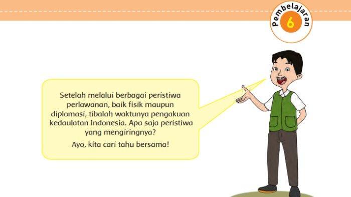 Kunci Jawaban Tema 7 Kelas 5 SD Halaman 141 142 144 147 148 Buku Tematik Subtema 2 Pembelajaran 6