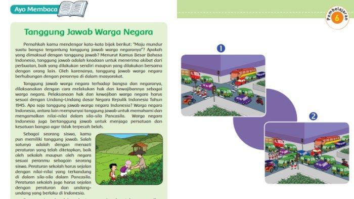 Berikut ini kunci jawaban Buku Tematik Tema 6 Kelas 5 SD halaman 61, 62, 63, 64, 65, 66.