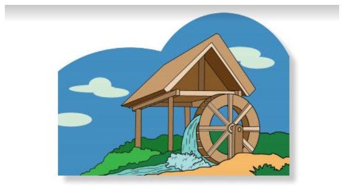Gambar Kicir Angin Buku Tematik Tema 5 Kelas 3 SD.