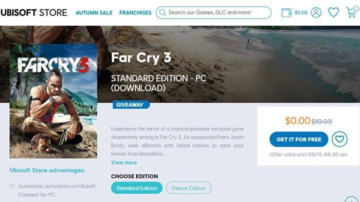 Cara Download Game Far Cry 3 untuk PC di Ubisoft, Gratis Sampai 11 September
