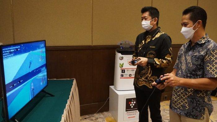 Sharp dan Telkom Luncurkan GameQoo, TV Game Streaming Pertama di Indonesia Tanpa Konsol
