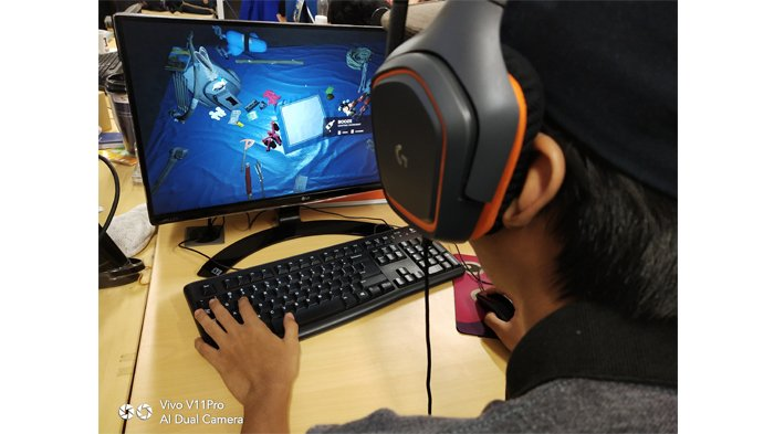 Ilustrasi gamer