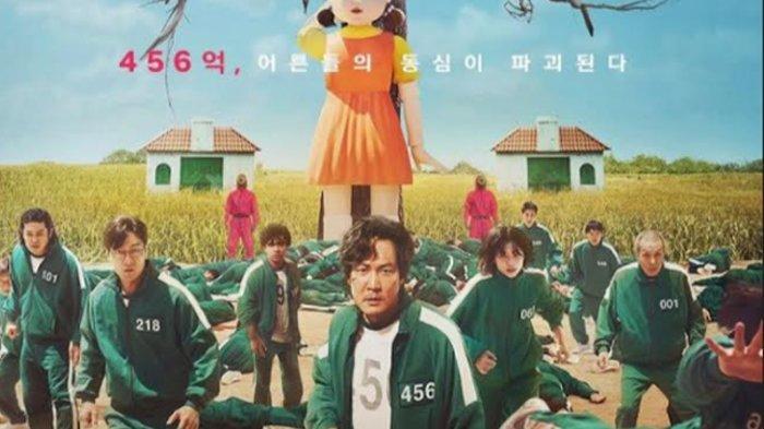 Poster Squid Games (via Instagram/Netflix Korea)