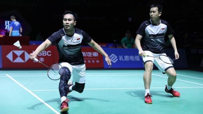 Link Live Streaming Perempat Final Hong Kong Open 2019: Ahsan/Hendra Main Pukul 11.00 WIB