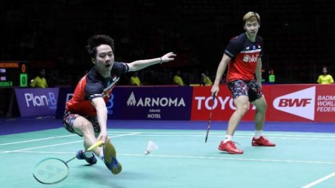 Rekap Hasil Kejuaraan Dunia 2019 - Marcus/Kevin Tumbang, Wakil Indonesia Sisa 9