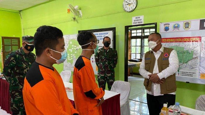 Tinjau Tempat Isoter di Klaten, Ketua Satgas Ingin Pengendalian COVID-19 Terintegrasi Hulu ke Hilir