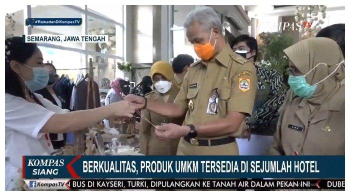 Ganjar Pranowo Ungkap Dampak Positif Pendampingan KPK Bagi UKM di Jawa Tengah