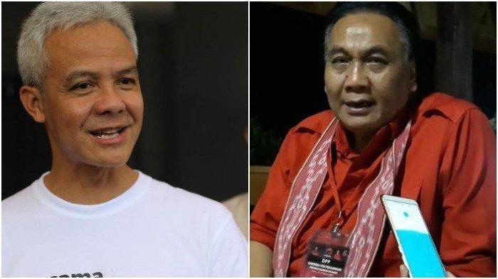 Ganjar Pranowo (Kiri) dan Bambang Wuryanto.