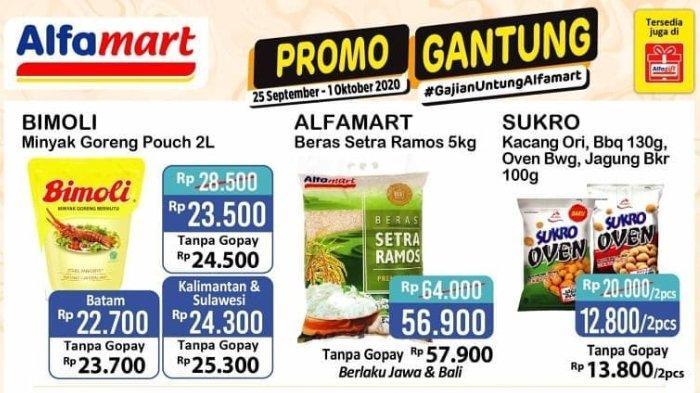 Katalog Promo Alfamart Terbaru Hingga 1 Oktober 2020 Potongan Harga Popok Susu Hingga Rp 20 Ribu Tribunnews Com Mobile