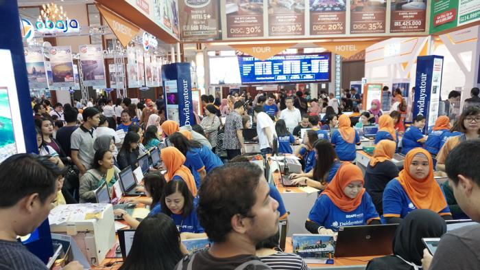 Garuda Indonesia Travel Fair Raih Transaksi Penjualan Rp 304 Miliar di Hari Kedua