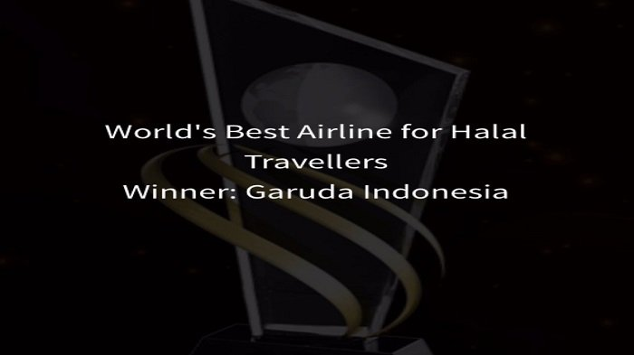 Garuda Indonesia Peroleh World's Best Airline for Halal Travellers 2016