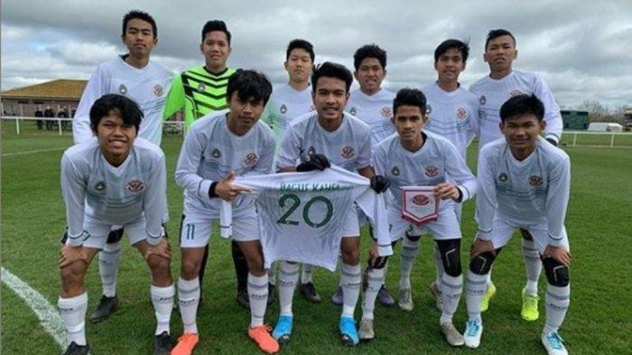 Garuda Select Sukses Kalahkan Bournemouth U-18 dengan Skor 2-0