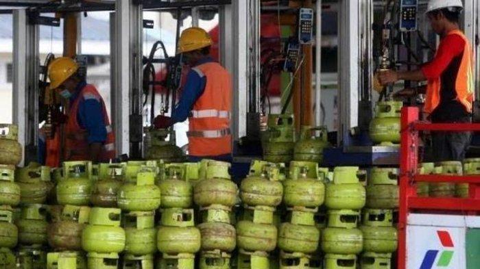 Ilustrasi tabung gas LPG