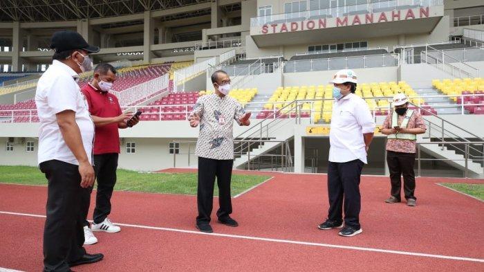 Sesmenpora Apresiasi Kinerja Kementerian PUPR Saat Tinjau Renovasi Stadion Piala Dunia U-20 2021