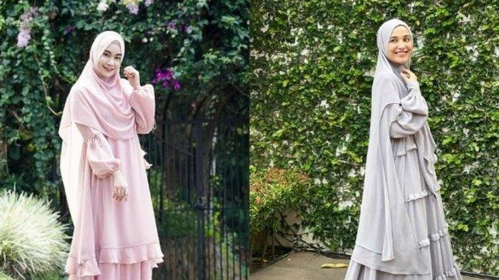 Intip Inspirasi Gaya Hijab Syari untuk Kondangan ala Seleb Ini yuk!