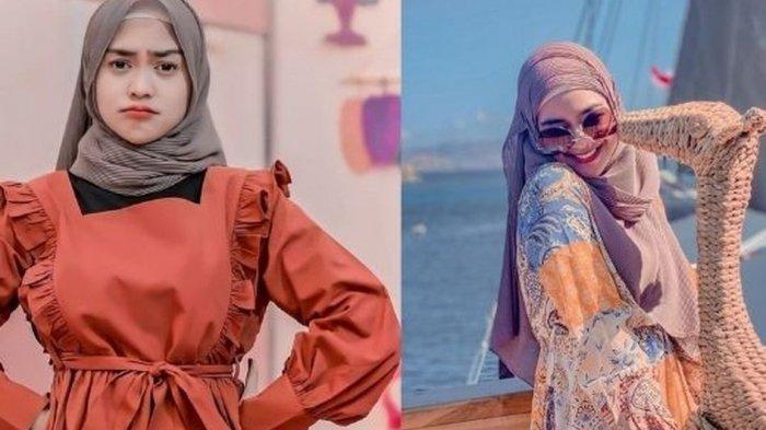 Segera Menikah, Simak Gaya Hijab Pashmina ala Ria Ricis yang Simple Ini yuk